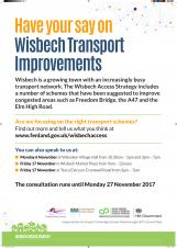 Have your say on Wisbech transport schemes
