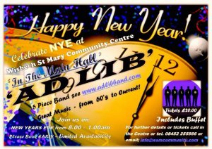 🥂🍾🎊🕛 Wisbech St Mary New Year's Eve Party 🍾