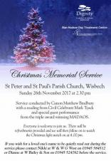 Christmas Memorial Service at St Peter & St Paul