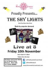 Shy Lights at the Rose & Crown
