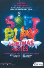 🎅🎄❄️☃️ Hudson Soft Play Christmas Party