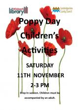 Poppy Day Children's Activities at the Library