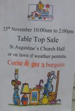 Table Top Sale @ St Augustine's