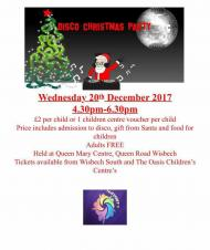 🎅🎄❄️☃️ Children's Disco Christmas Party at the QMC