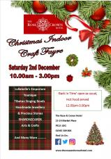 🎅🎄❄️☃️ Christmas indoor craft fayre at Rose & Crown