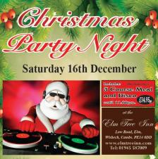 🎅🎄❄️☃️ Christmas Party Night at The Elm Tree Inn