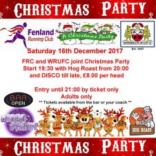 🎅🎄❄️☃️ Fenland Running Club / Wisbech RUFC joint Christmas Party