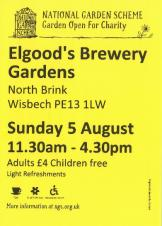 🌺🌻🌹🥀🌷🌼 Elgood's Brewery and Gardens : National Gardens Scheme