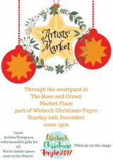 🎅🎄❄️☃️ Christmas Artists' Market at the Rose & Crown