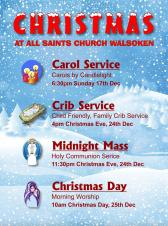🌟 Christmas Services at All Saints, Walsoken