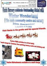 🎅🎄❄️☃️ Winter Wonderland at the Oasis Centre
