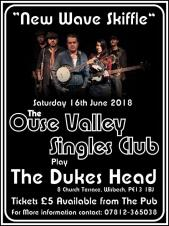 Ouse Valley Singles Club play the Dukes Head