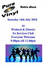 Pure Vinyl at the Ex-Services Club