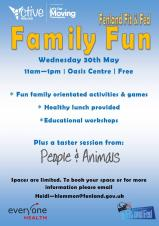 Family fun at the Oasis Centre Wisbech