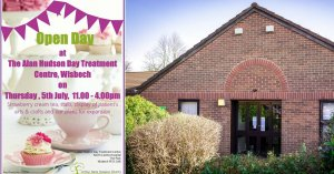 Alan Hudson Day Treatment Centre Open Day