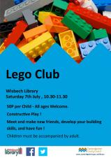 Lego Club at Wisbech Library
