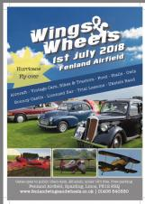 Wings and Wheels at Fenland Airfield