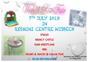 Rose Fair parade day at the Rosmini