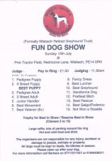 Galgo & Podenco Rescue Fun Dog Show