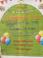 Clarkson infant and nursery school summer fair.
