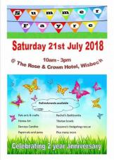 Summer Fayre at the Rose & Crown