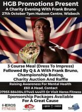 Charity Evening with Frank Bruno