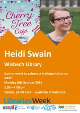 Celebrating National Libraries Week - Author talk from Heidi Swain