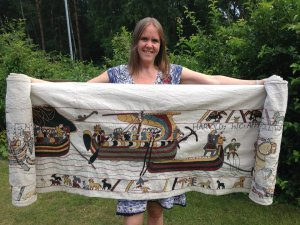 A Bayeux tapestry experience