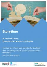 👻🎃Spooktacular Storytime at Wisbech Library