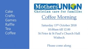 Mother's Union Coffee Morning