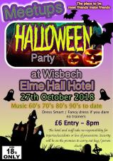 Meetups Halloween Party at the Elme Hall Hotel