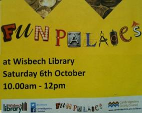 Fun Palaces at Wisbech Library