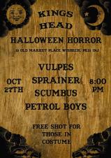 👻🎃Halloween Horror - live music at the King's Head