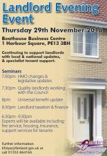 Free event for Fenland landlords