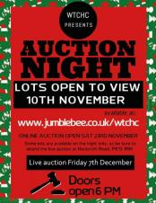 Wisbech Cricket & Hockey Club Fundraising Auction