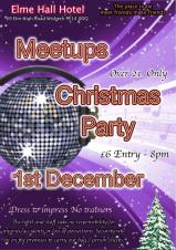 🎅🎄 Meetups Christmas Party at the Elme Hall Hotel