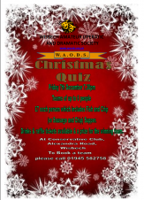 🎅🎄❄️☃️ WAODS Christmas Quiz