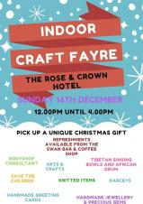 Indoor Craft Fayre at the Rose & Crown