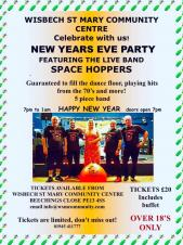Wisbech St Mary New Year's Eve Party