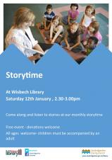 Storytime at Wisbech Library