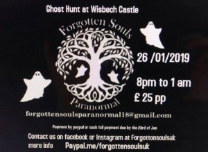 Ghost hunt at Wisbech Castle