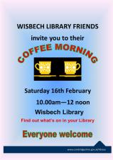 Library Friends Coffee Morning