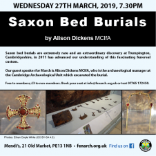 Fenland Archaeology Society - Saxon Bed Burials