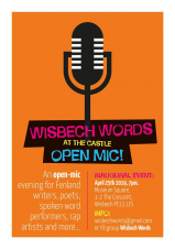Wisbech Words at The Castle Open Mic