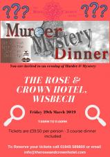 Murder Mystery Evening at the Rose & Crown
