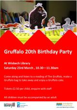 Gruffalo craft and story event