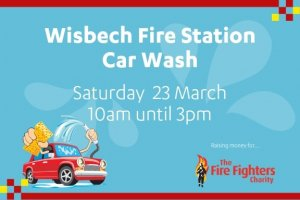 Cambridgeshire Fire and Rescue Service ‏car wash