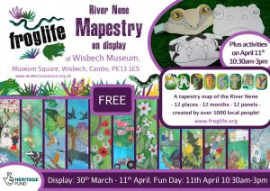 Mapestry at Wisbech & Fenland Museum