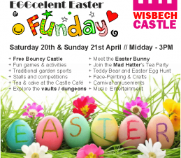 Eggcelent Easter Saturday at Wisbech Castle