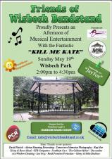 Music at the Bandstand - Kill Me Kate